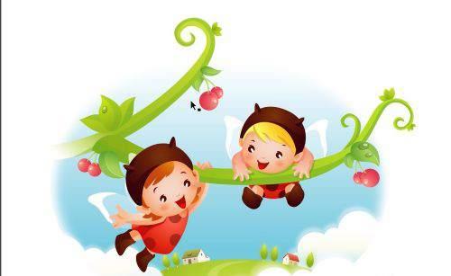 儿童插画定制设计